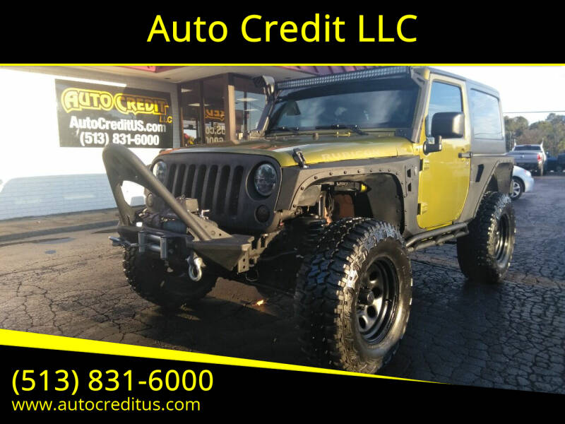 2007 Jeep Wrangler for sale at Auto Credit LLC in Milford OH