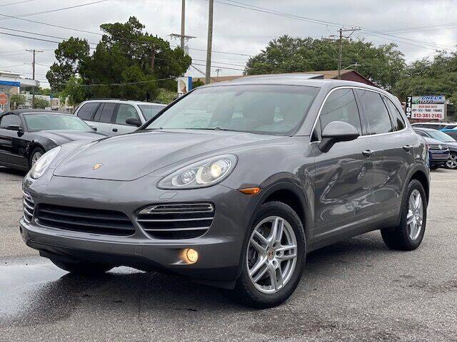 2012 Porsche Cayenne for sale at CHECK AUTO, INC. in Tampa FL