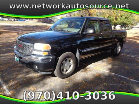 2006 GMC Sierra 1500 for sale at Network Auto Source in Loveland CO