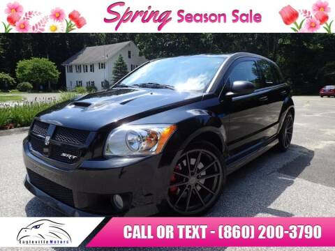 2008 Dodge Caliber for sale at EAGLEVILLE MOTORS LLC in Storrs CT