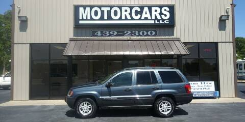 2004 Jeep Grand Cherokee for sale at MotorCars LLC in Wellford SC