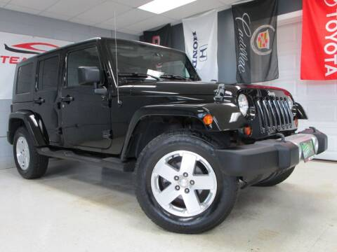 2009 Jeep Wrangler Unlimited for sale at TEAM MOTORS LLC in East Dundee IL