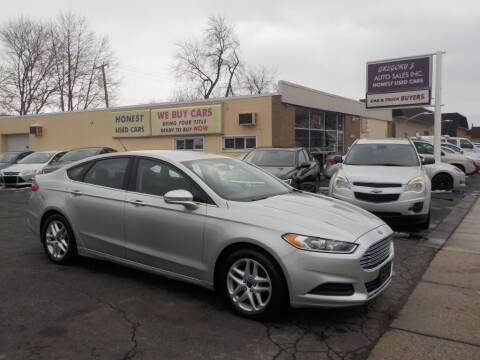 2014 Ford Fusion for sale at Gregory J Auto Sales in Roseville MI