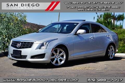 2014 Cadillac ATS for sale at San Diego Motor Cars LLC in San Diego CA