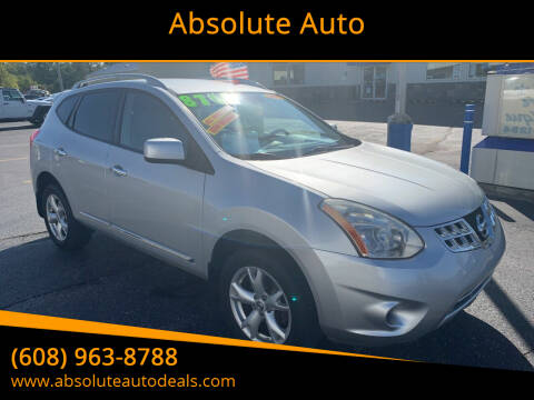 2011 Nissan Rogue for sale at Absolute Auto in Baraboo WI