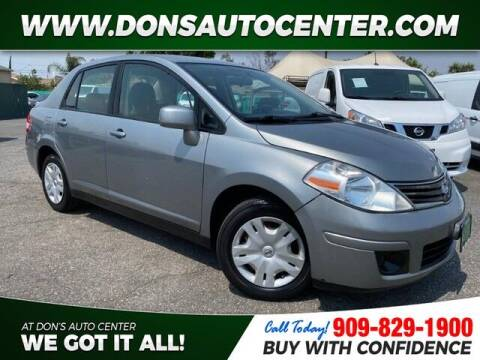 2011 Nissan Versa for sale at Dons Auto Center in Fontana CA