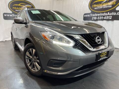 2017 Nissan Murano for sale at TRADEWINDS MOTOR CENTER LLC in Cleveland OH