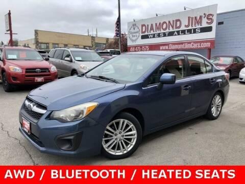 2013 Subaru Impreza for sale at Diamond Jim's West Allis in West Allis WI