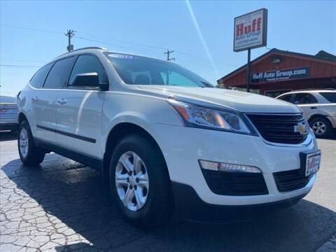 2014 Chevrolet Traverse for sale at HUFF AUTO GROUP in Jackson MI
