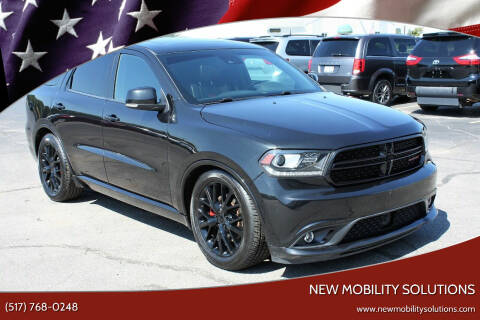 2016 Dodge Durango for sale at New Mobility Solutions in Jackson MI