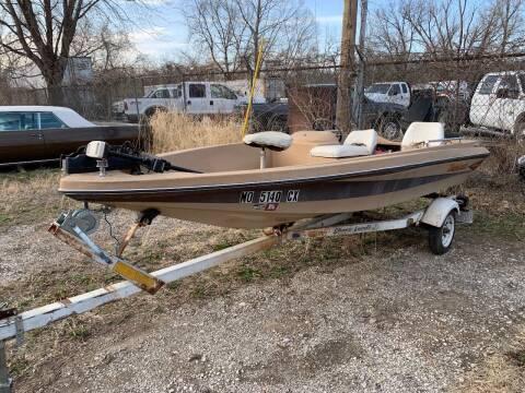 1981 Tide Craft Bass Boat 19 Feet for sale at Korz Auto Farm in Kansas City KS