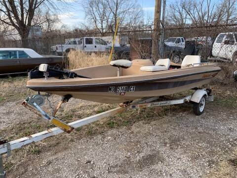 1981 Tide Craft Bass Boat for sale at Korz Auto Farm in Kansas City KS