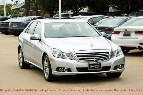 2011 Mercedes-Benz E-Class for sale at Silver Star Motorcars in Dallas TX