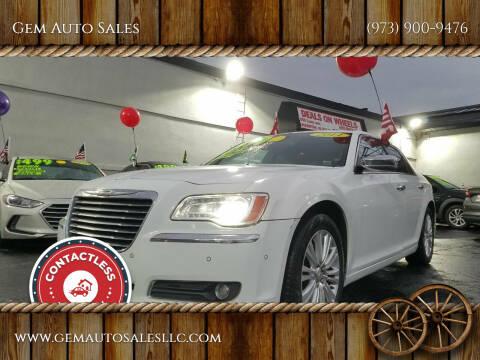 2011 Chrysler 300 for sale at Gem Auto Sales in Irvington NJ