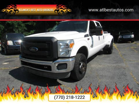 2015 Ford F-350 Super Duty for sale at Atlanta's Best Auto Brokers in Marietta GA