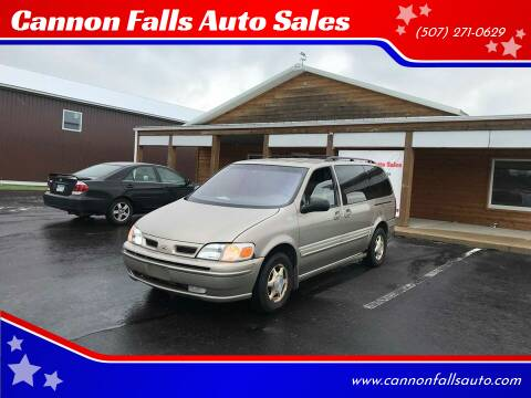 1999 Oldsmobile Silhouette for sale at Cannon Falls Auto Sales in Cannon Falls MN