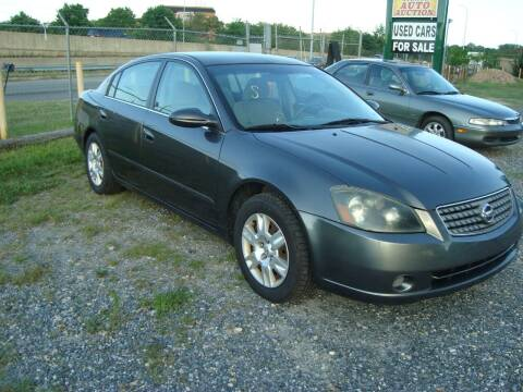 2005 Nissan Altima for sale at Branch Avenue Auto Auction in Clinton MD