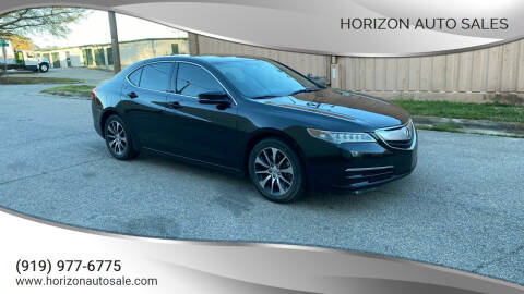 2015 Acura TLX for sale at Horizon Auto Sales in Raleigh NC