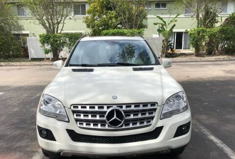 2011 Mercedes-Benz M-Class for sale at Eden Cars Inc in Hollywood FL