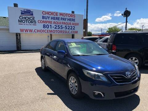 2011 Toyota Camry for sale at Choice Motors of Salt Lake City in West Valley  City UT