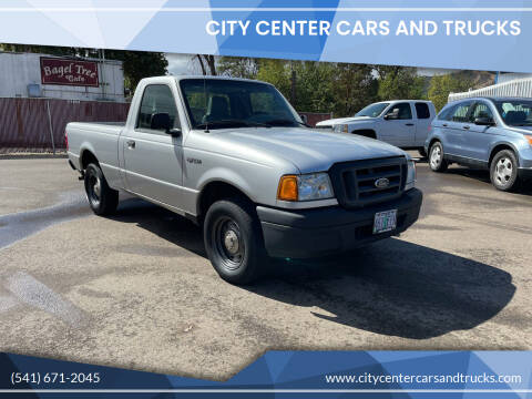 2005 Ford Ranger for sale at City Center Cars and Trucks in Roseburg OR