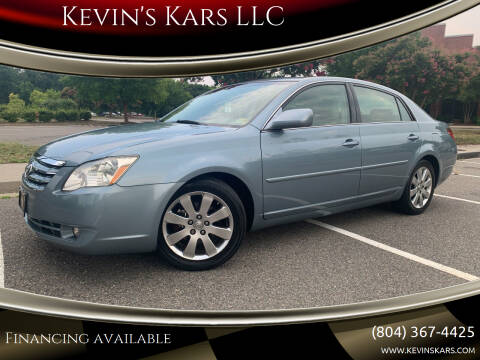 2007 Toyota Avalon for sale at Kevin's Kars LLC in Richmond VA