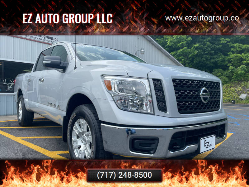 2019 Nissan Titan for sale at EZ Auto Group LLC in Lewistown PA