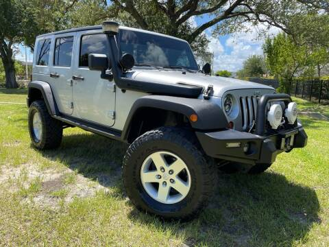 2009 Jeep Wrangler Unlimited for sale at Kaler Auto Sales in Wilton Manors FL
