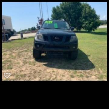 2010 Nissan Frontier for sale at Carolina Auto Sales in Lugoff SC