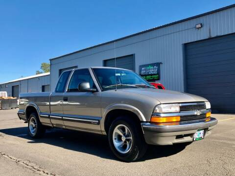 1998 Chevrolet S-10 for sale at DASH AUTO SALES LLC in Salem OR