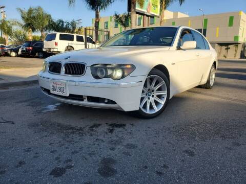 2005 BMW 7 Series for sale at GENERATION 1 MOTORSPORTS #1 in Los Angeles CA