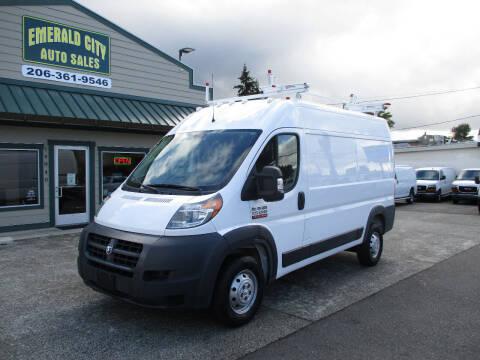 2018 RAM ProMaster Cargo for sale at Emerald City Auto Inc in Seattle WA