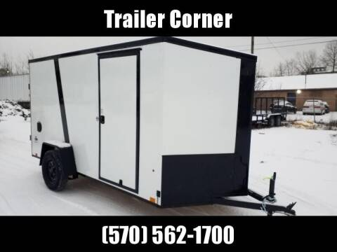 2022 Look Trailers STLC 6X12 - BLACKED OUT - RAMP