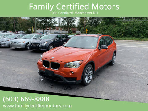 2014 BMW X1 for sale at Family Certified Motors in Manchester NH