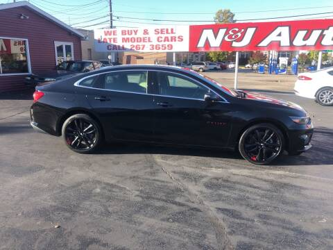 2018 Chevrolet Malibu for sale at N & J Auto Sales in Warsaw IN