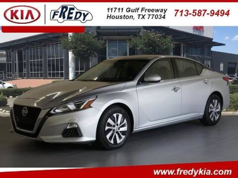 2019 Nissan Altima for sale at FREDY KIA USED CARS in Houston TX