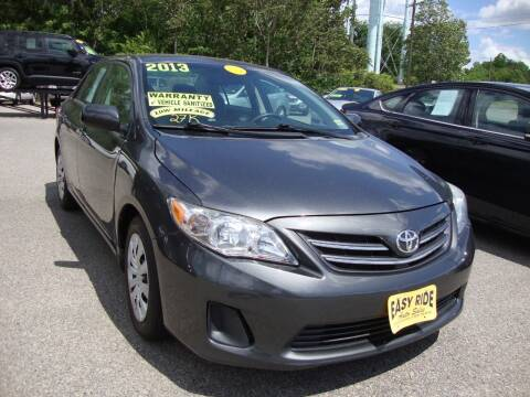 2013 Toyota Corolla for sale at Easy Ride Auto Sales Inc in Chester VA