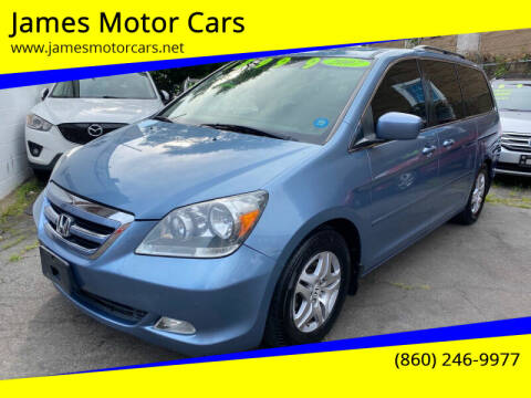 2007 Honda Odyssey for sale at James Motor Cars in Hartford CT