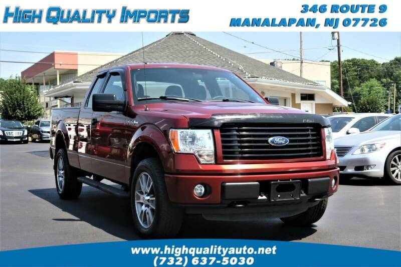 2014 Ford F-150 for sale at High Quality Imports in Manalapan NJ