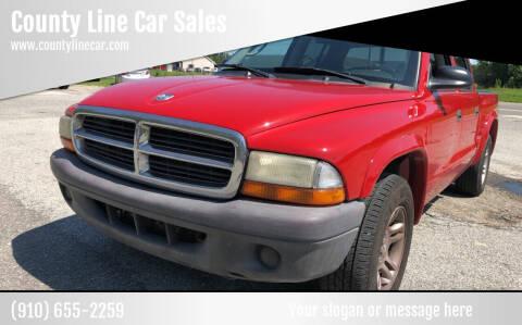2004 Dodge Dakota for sale at County Line Car Sales Inc. in Delco NC