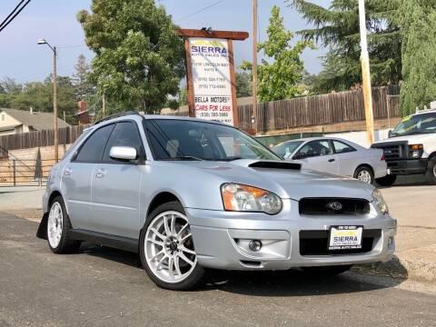 2004 Subaru Impreza for sale at Sierra Auto Sales Inc in Auburn CA