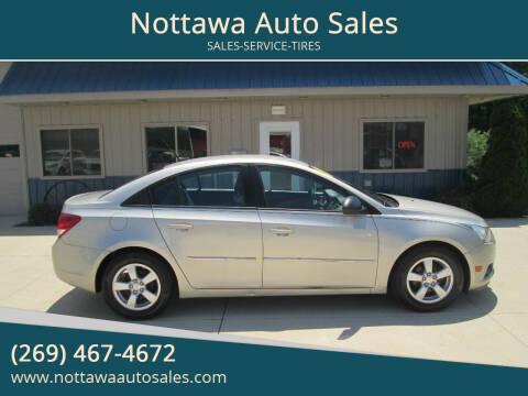 2014 Chevrolet Cruze for sale at Nottawa Auto Sales in Nottawa MI