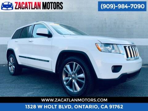 2013 Jeep Grand Cherokee for sale at Ontario Auto Square in Ontario CA