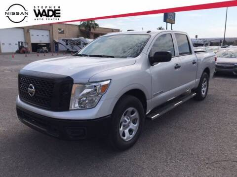 2019 Nissan Titan for sale at Stephen Wade Pre-Owned Supercenter in Saint George UT