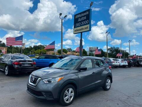 2019 Nissan Kicks for sale at Michaels Autos in Orlando FL