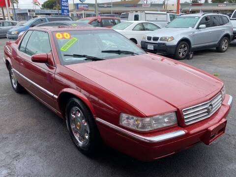 2000 Cadillac Eldorado for sale at North County Auto in Oceanside CA