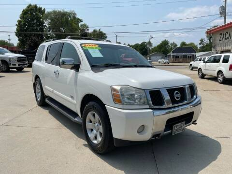 2005 Nissan Armada for sale at Zacatecas Motors Corp in Des Moines IA