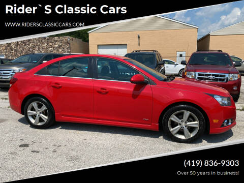 2014 Chevrolet Cruze for sale at Rider`s Classic Cars in Millbury OH