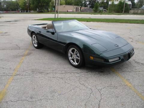 1996 Chevrolet Corvette for sale at RJ Motors in Plano IL