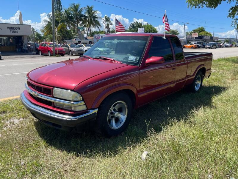 2002 Chevrolet S-10 for sale at WRD Auto Sales in Hollywood FL